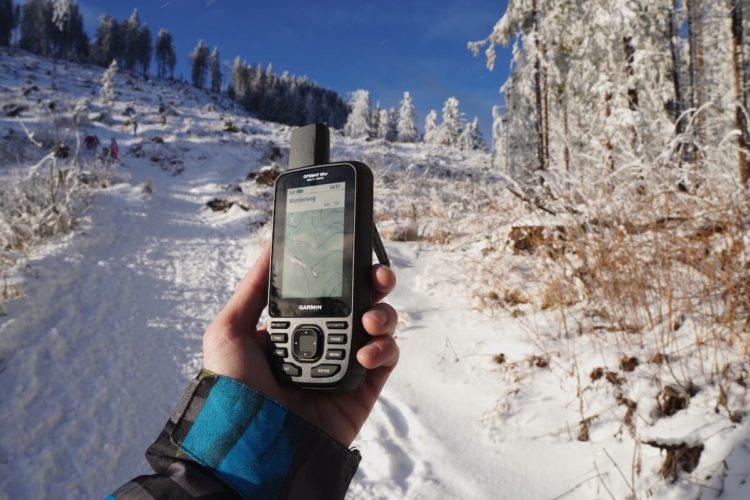 Garmin GPS auf Skitouren