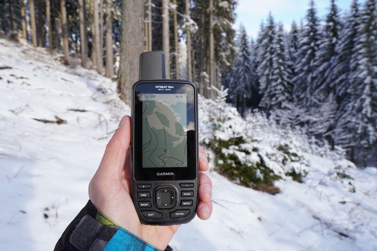 Garmin GPSmap 66sr Winter