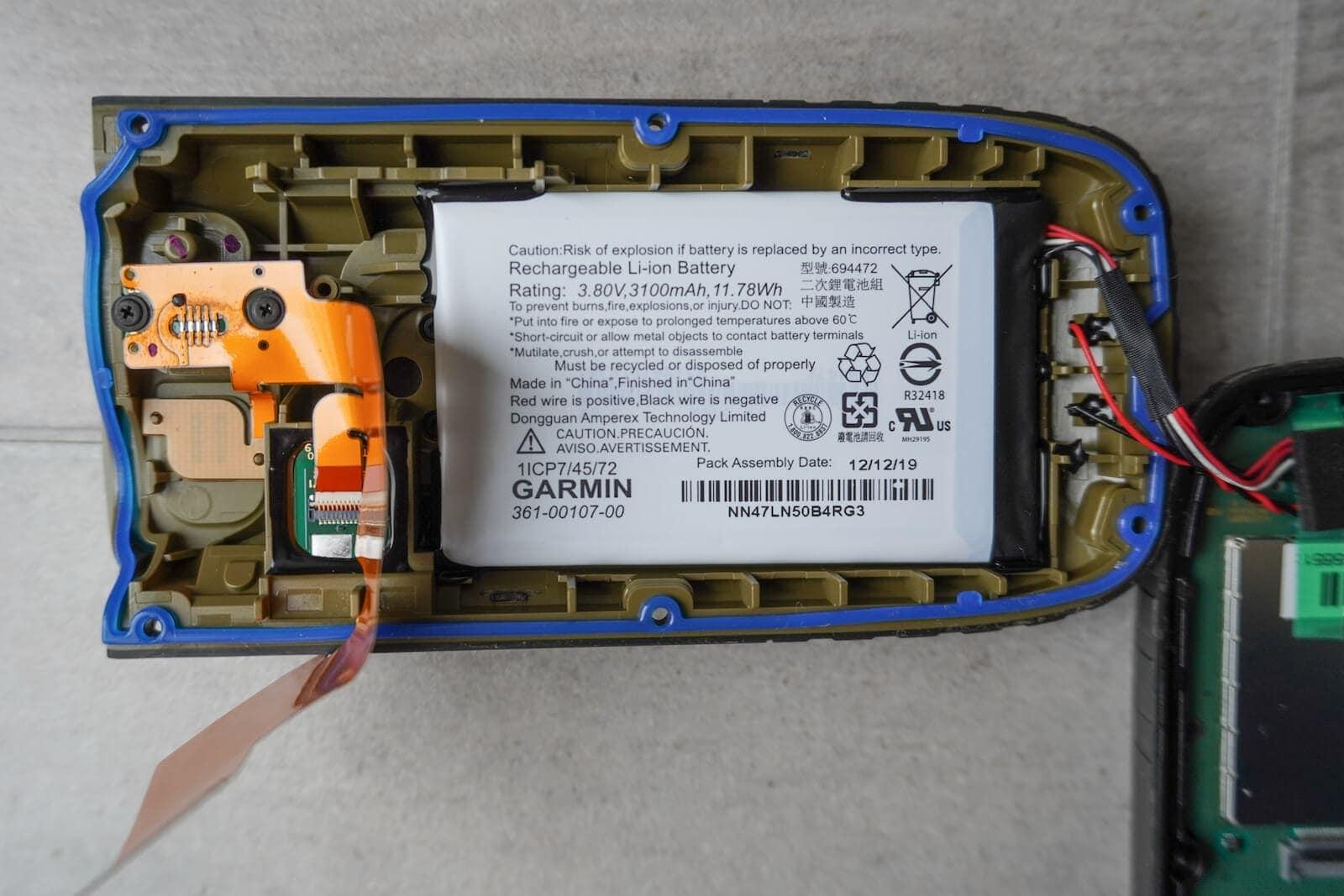 Garmin GPSmap 66sr Battery Akku