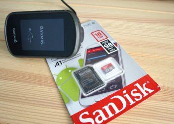 Garmin eTrex Touch 35 Kartenupdate